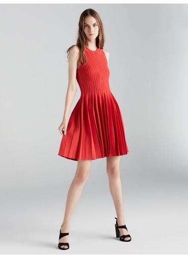 Pilisoley Etekli Triko Elbise-Ipekyol